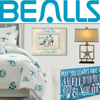 Bealls Coastal and Beach Home Decor