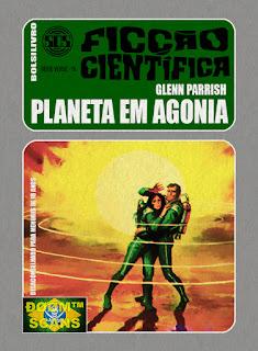 bolsilivro sos ficção científica cedibra série verde glenn parrish planeta agonia