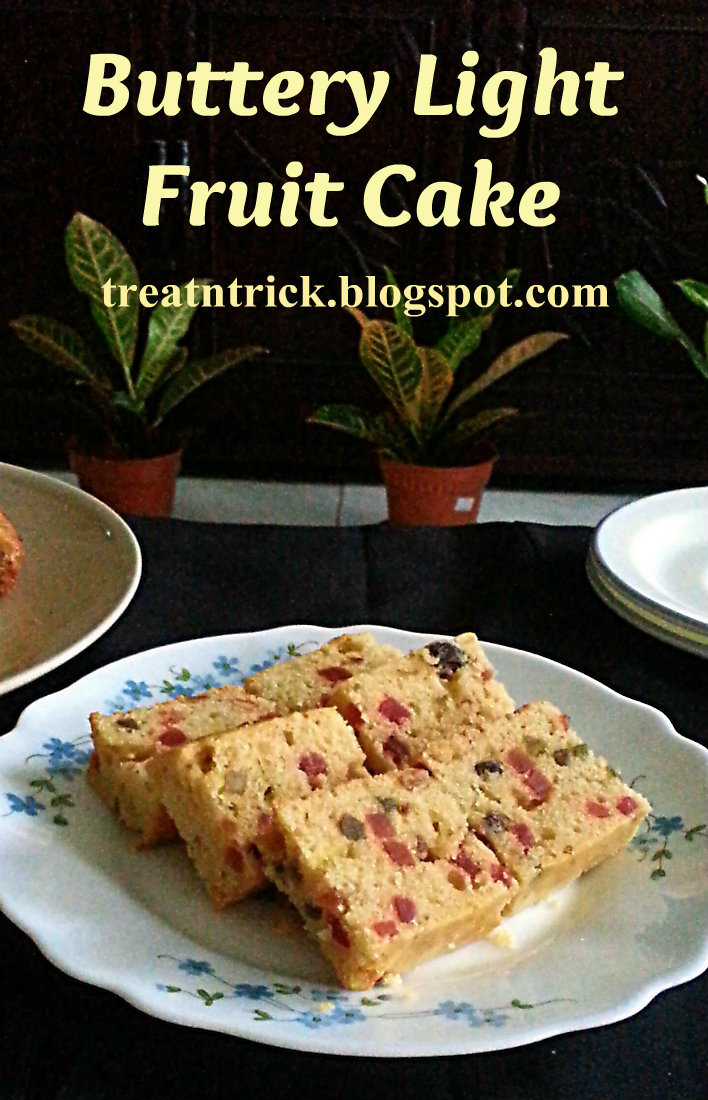 Treat trick buttery light fruit cake buttery light fruit cake recipe treatntrickspot forumfinder Gallery