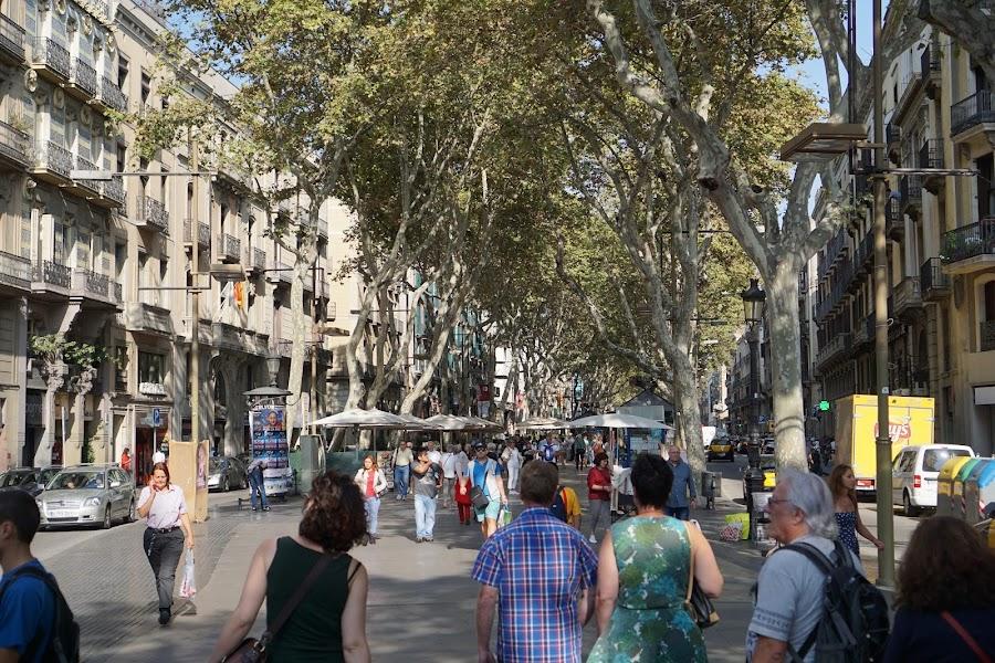 ランブラス通り(Las Ramblas)