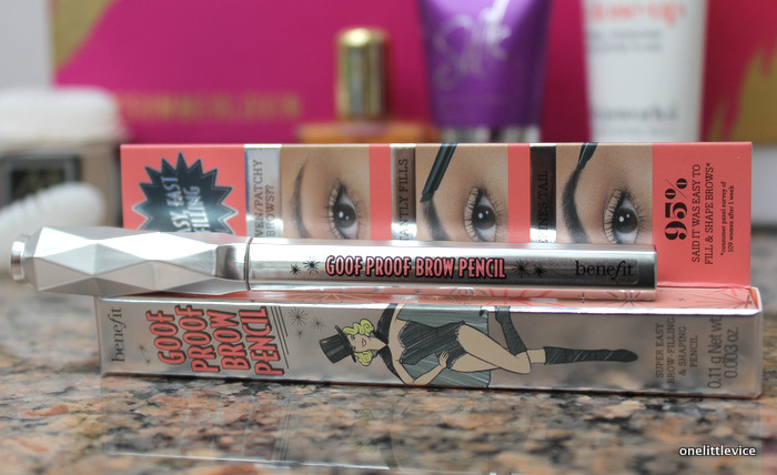 one little vice beauty blog: Benefit Goof Proof Brow Pencil