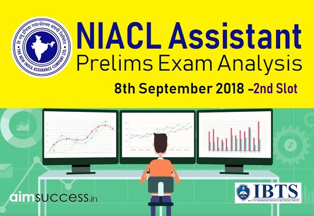NIACL Assistant Prelims Exam Analysis 8th September 2018 - Slot: 2