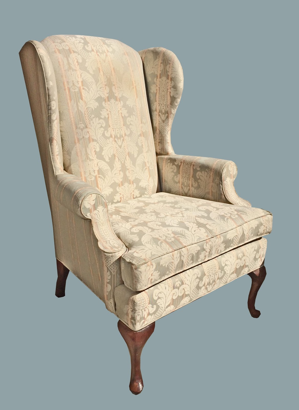 Uhuru Furniture & Collectibles: Classic Wingback Chair in ...