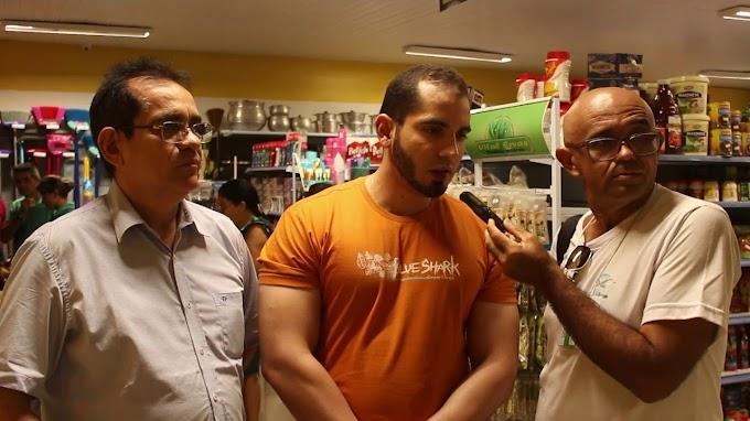 MARCO: Supermercado Santa Lúcia completa 24 anos em Elesbão Veloso e festeja com clientes e colaboradores