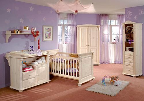 Dormitorios de beb 2 decoractual dise o y decoraci n - Adornos habitacion bebe ...
