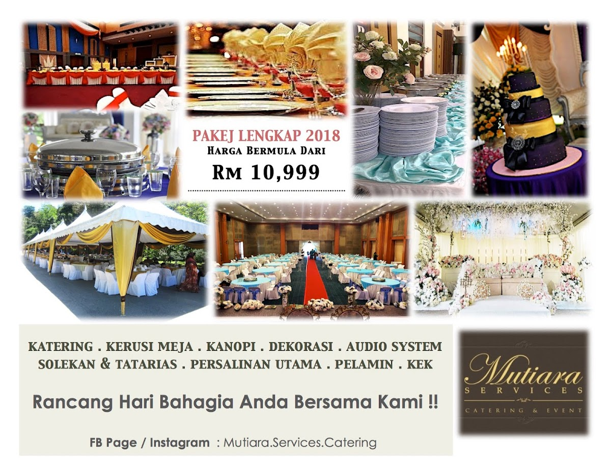 Mutiara Catering And Event - Mutiara Services