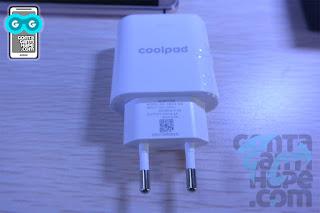 Coolpad Max - Kepala charger yang support fast charging