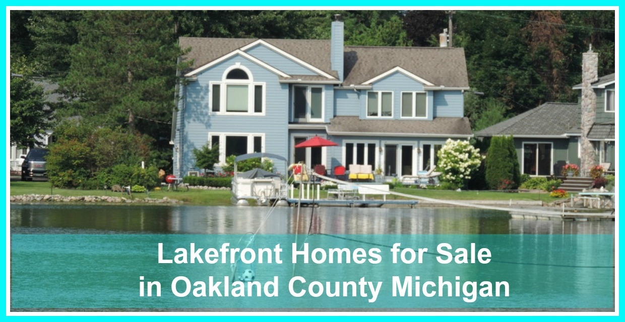 Lakefront Property In Michigan Oakland County