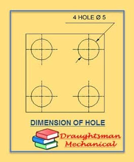 rules-for-dimension-of-hole