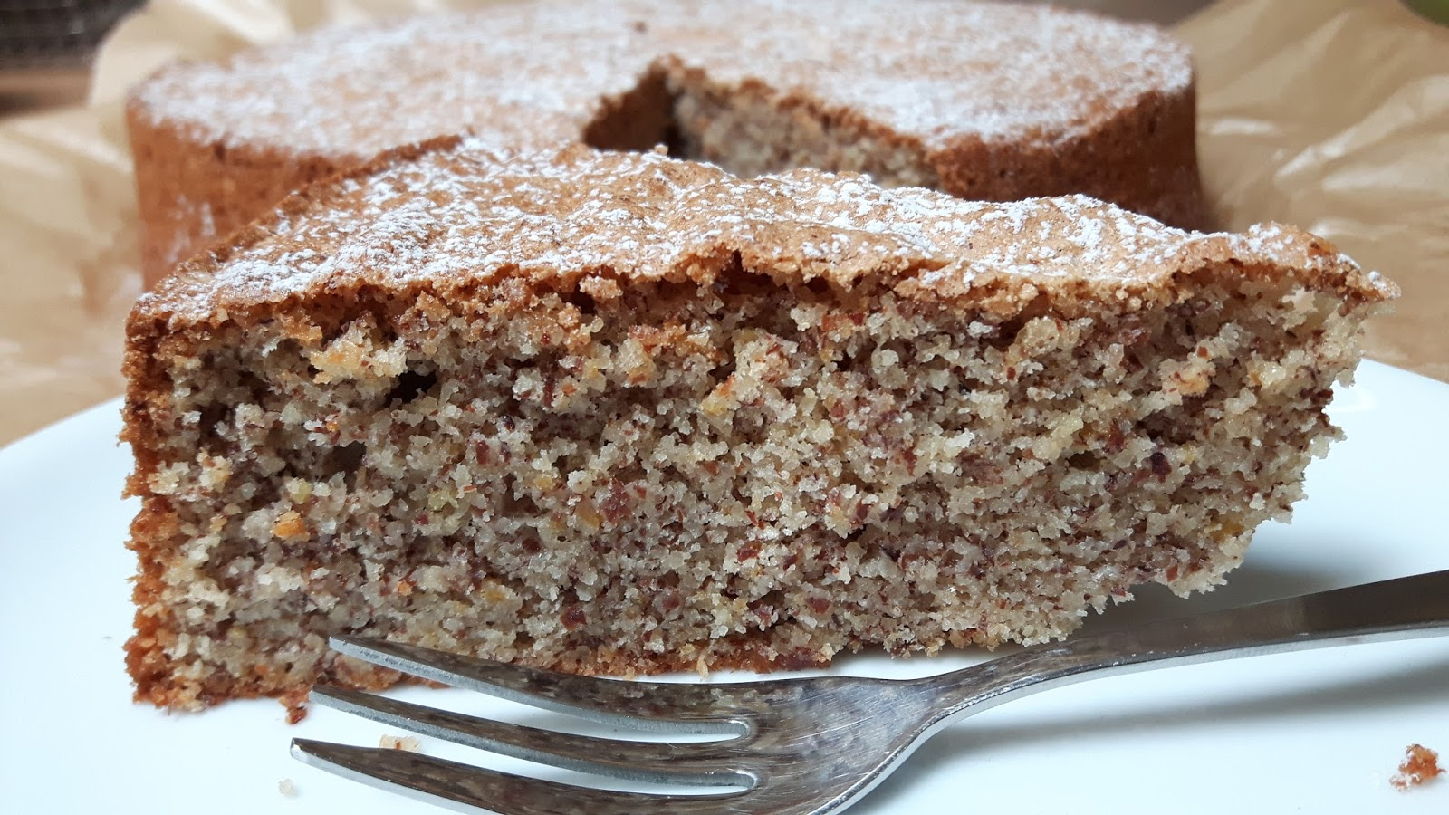 Rezept für Mallorquinischen Mandelkuchen (glutenfrei)