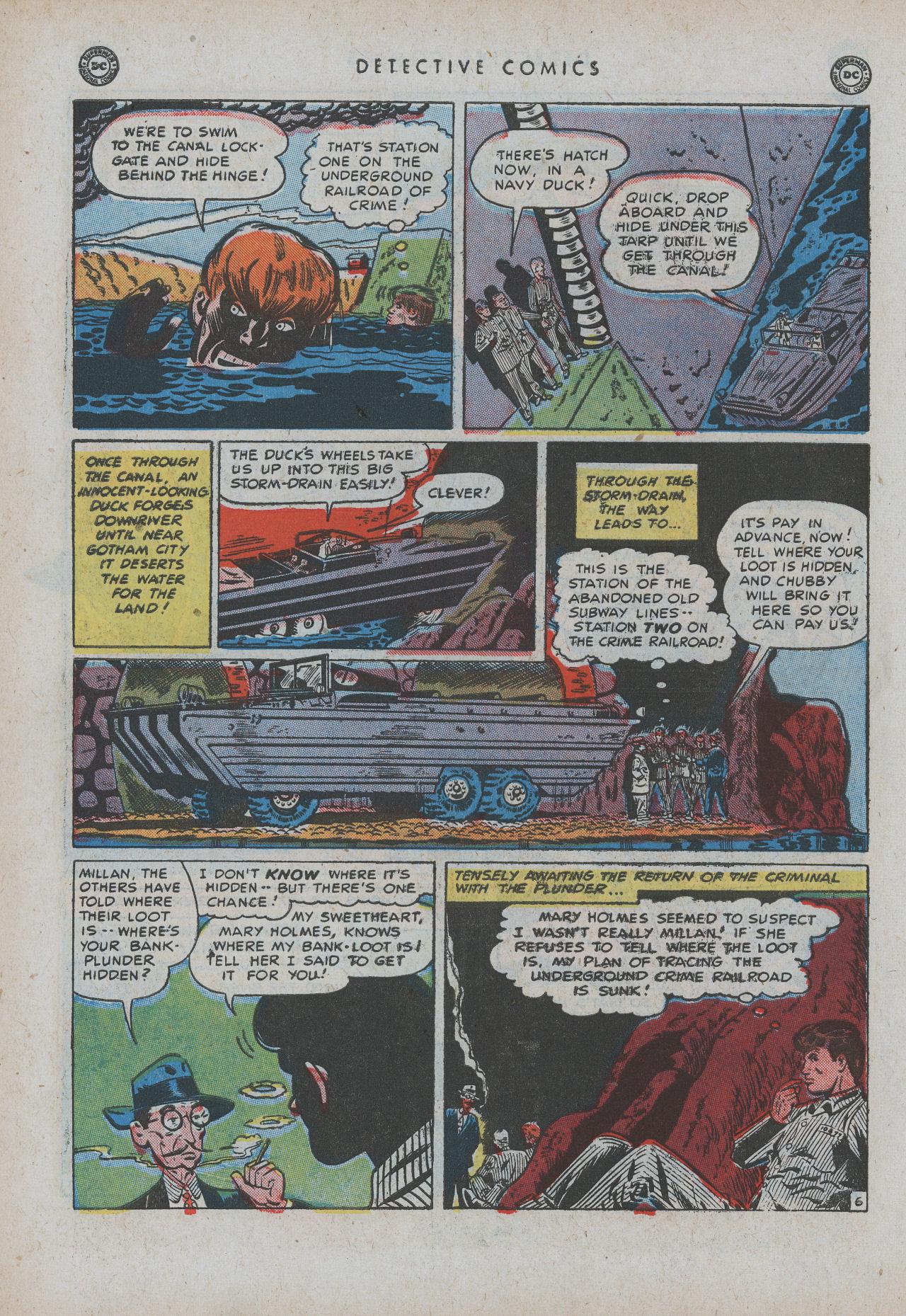 Read online Detective Comics (1937) comic -  Issue #154 - 8