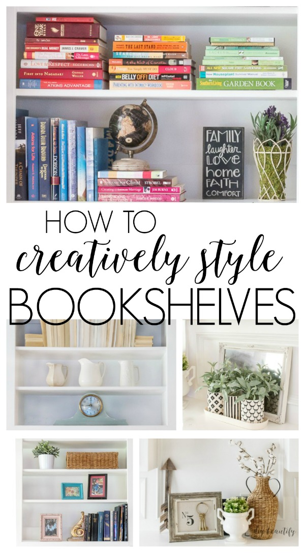 How To Style Bookcase | Diy Beautify