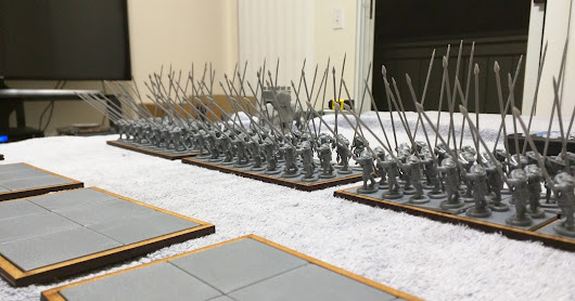 Sword Point working on my successor army