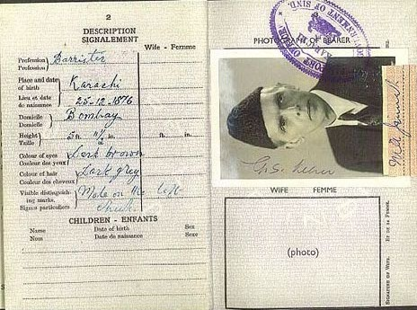 Quaid-e-Azam's Passport