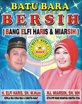 Pasangan BERSIH Prediksi Bakal Dapat Dukungan KMP di Pemilukada Batu Bara 2018