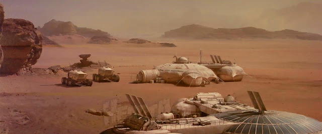 Base from The last days on Mars movie