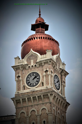 Clock Tower, Sultan Abdul Samad Building, KL Historic City Centre, KL, Malaysia
