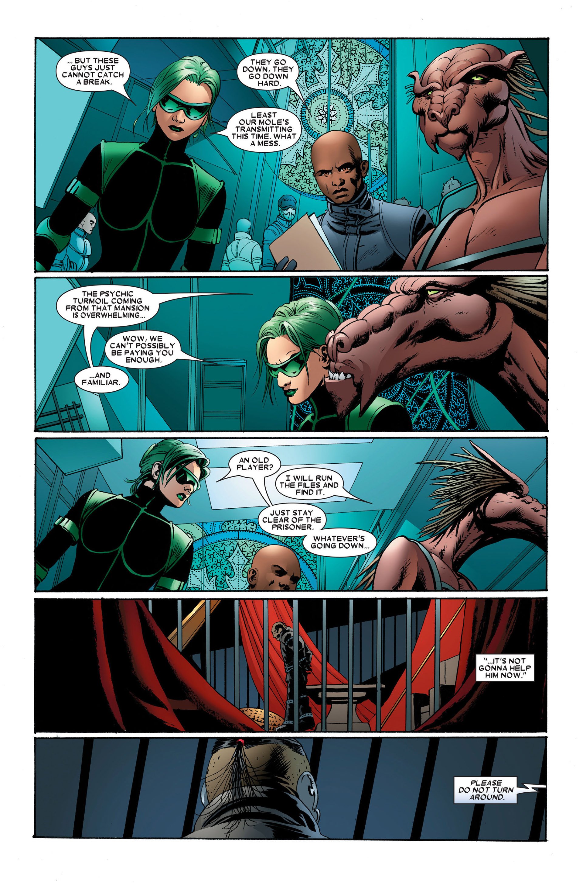 Read online Astonishing X-Men (2004) comic -  Issue #15 - 19