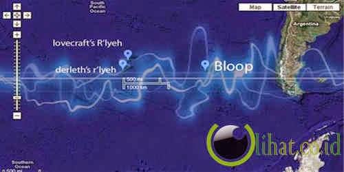 Suara Bloop Misterius di Dalam Laut