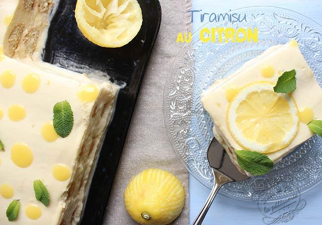 recette tiramisu citron
