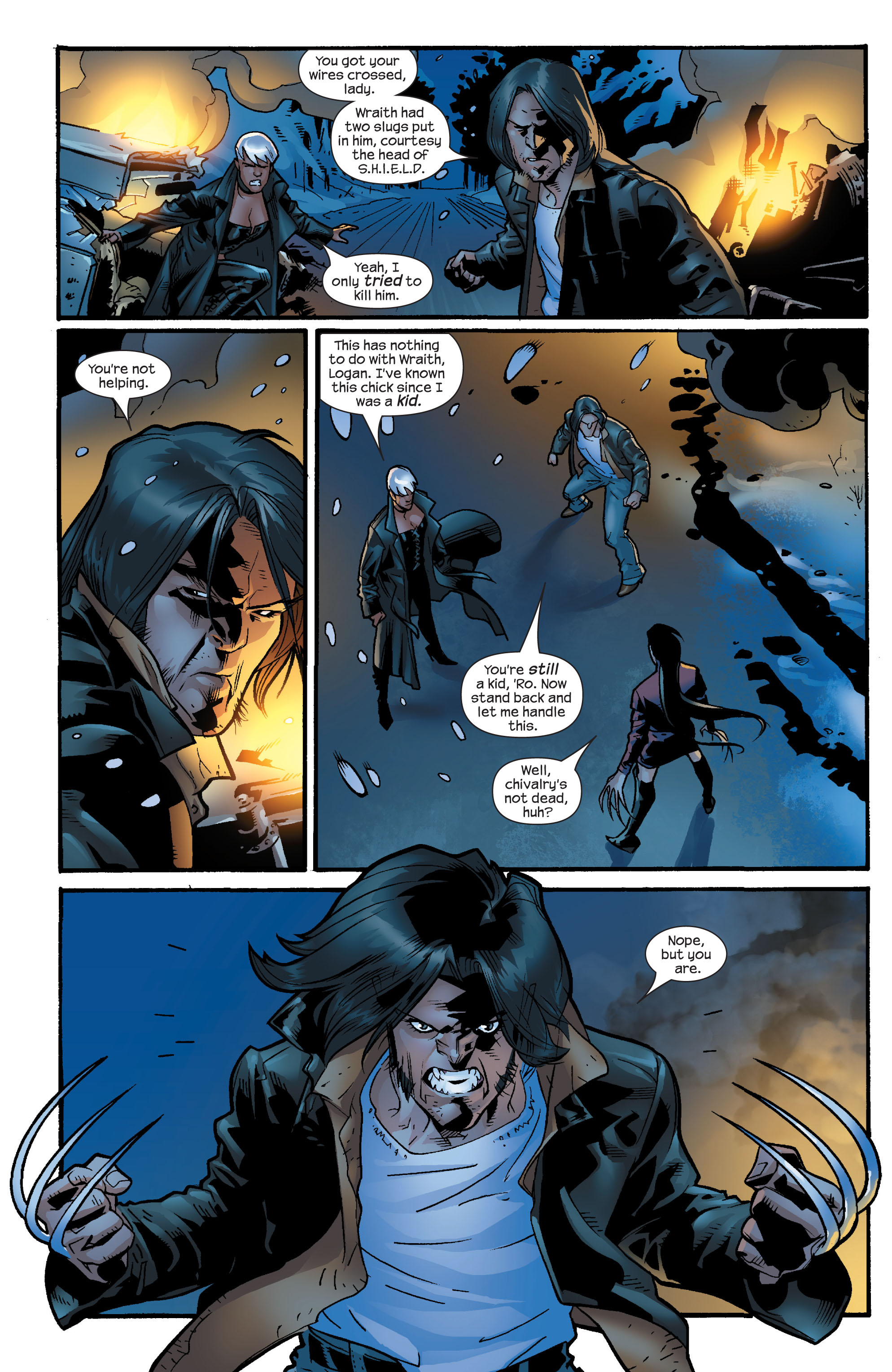 Read online Ultimate X-Men comic -  Issue #60 - 7