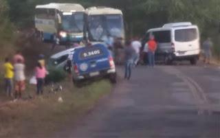 Acidente entre Ituaçu e Tanhaçu