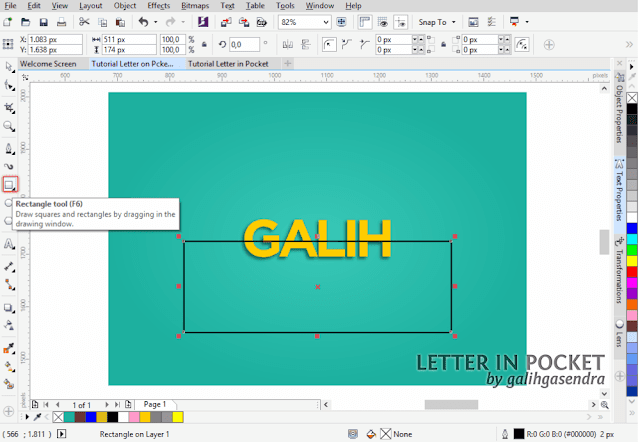 CorelDRAW Tutorial Typography