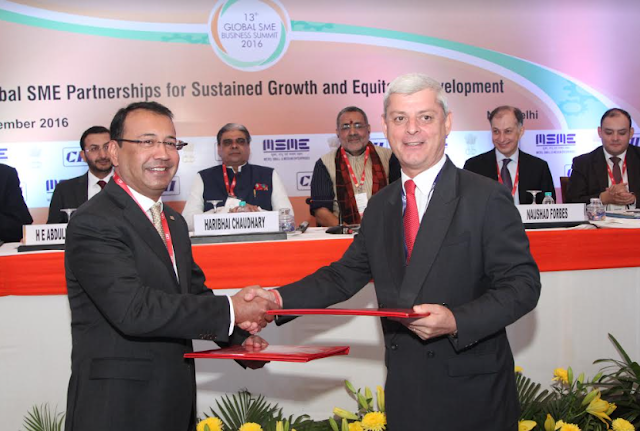 Mr. Milan K.Nag, Co. Chairman,CII and Mr. Trevor Bull, MD & CEO, Aviva India1