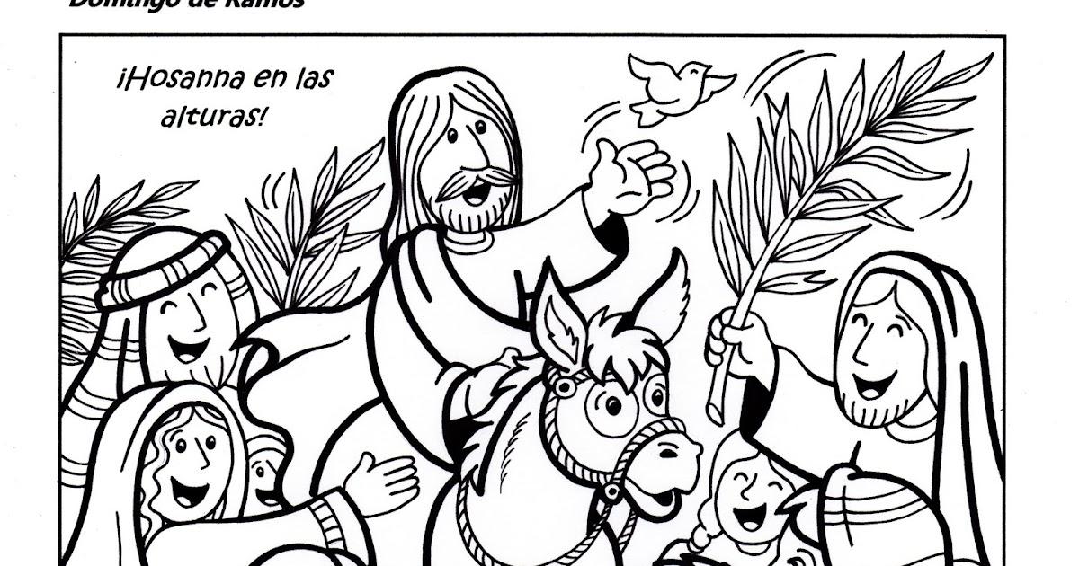 Parroquia La Inmaculada: Fichas para el Domingo de Ramos
