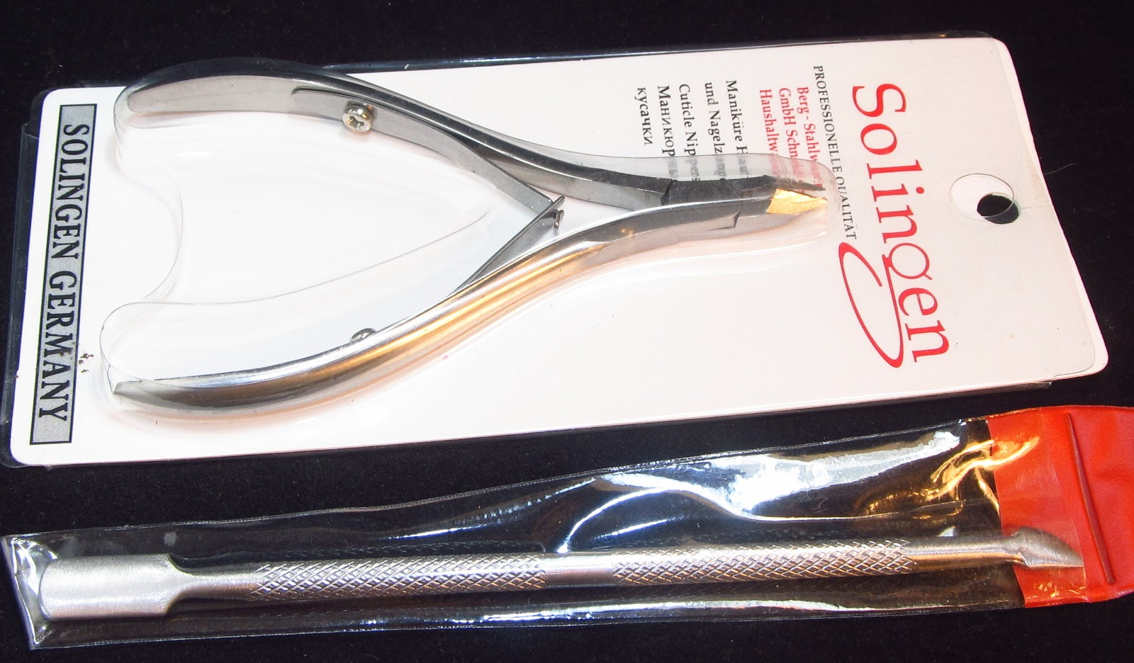 Born Pretty - Cuticle Pusher & Cuticle Nippers
