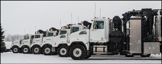 Joe Johnson Equipment's fleet of Western Star Trucks