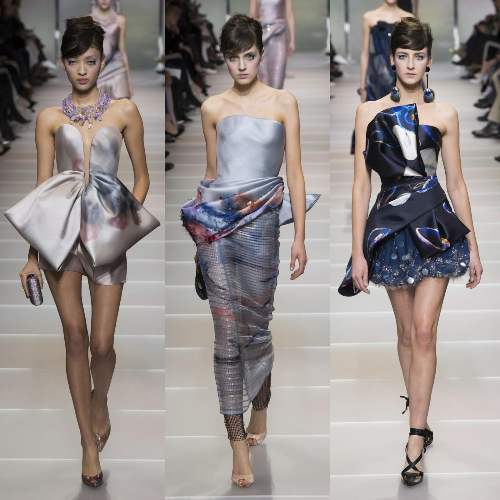Prive armani haute couture spring catalog photo