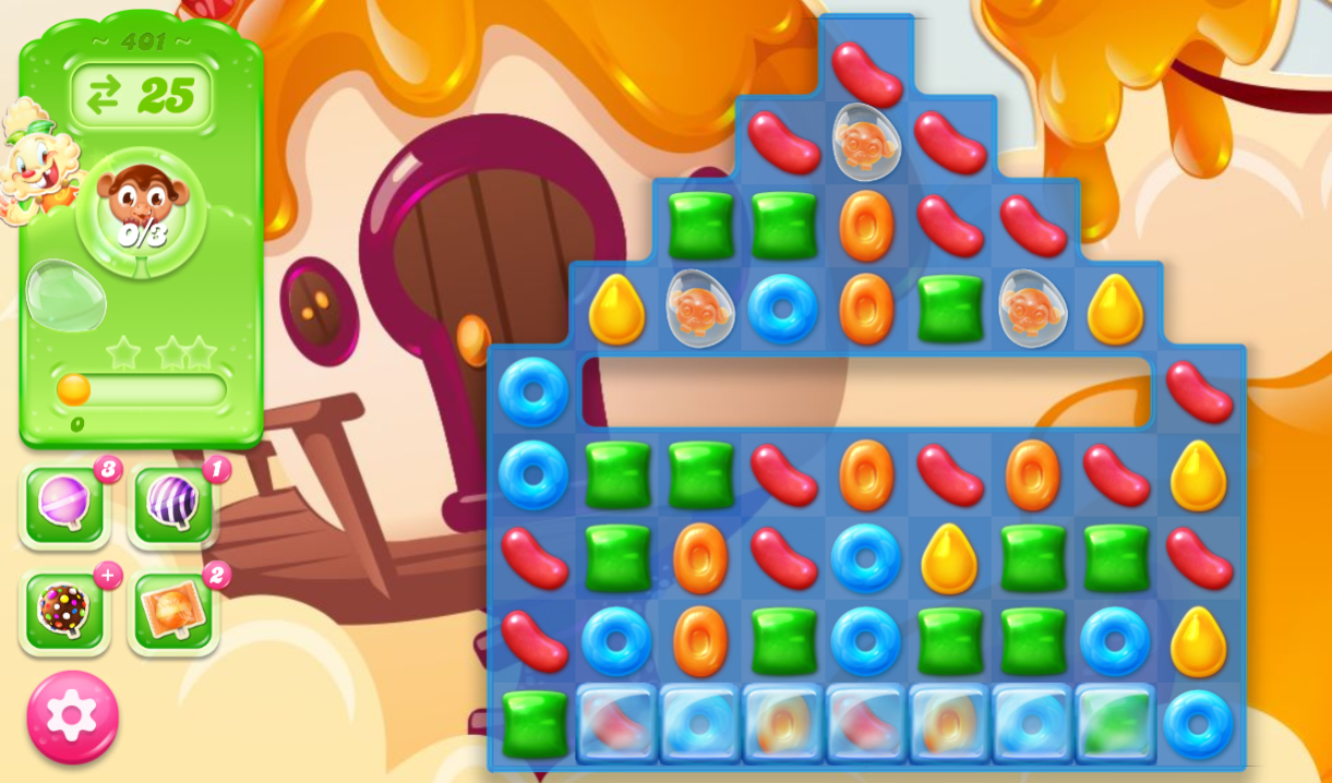 Candy Crush Jelly Saga 401