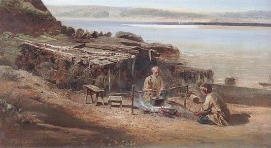 Fishermen, Savrasov 1872