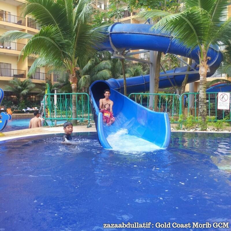 Arizona Gold Swimming: Zaza Abdul Latif: Water Theme Park Gold Coast Morib GCM