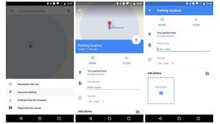 Το Google Maps σας βοηθάει να θυμάστε πού έχετε παρκάρει