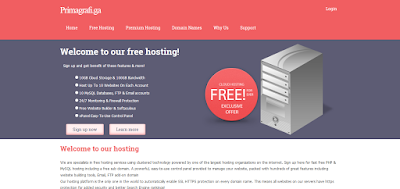 Primagrafi Free Hosting Review