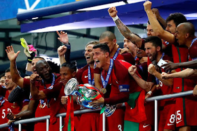 PORTUGAL 1-0 FRANCE (AET): Portugal beat France to win Euro 2016