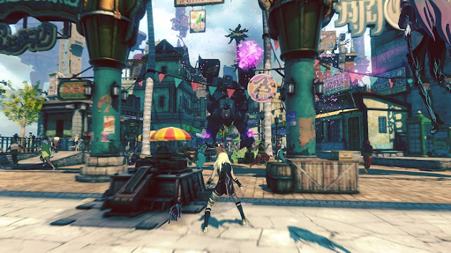 Gravity Rush 2 Gameplay