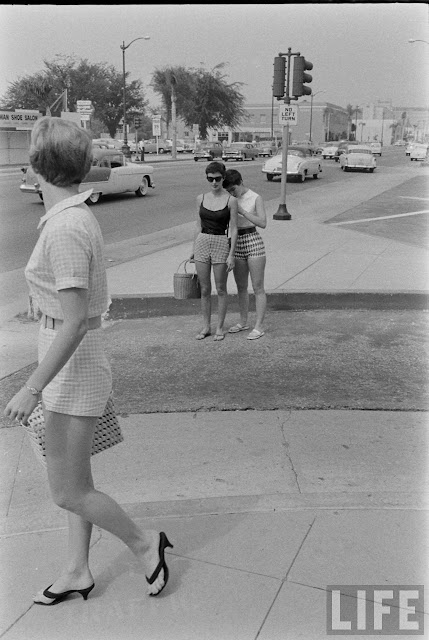 Female Short Pants In The 1950s The Day When The Shorts