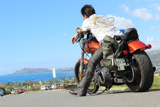 Harley Davidson motorcycle rentals on Oahu