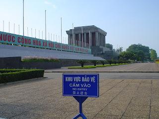 L'accès à Ho Chi Minh Mausoleum