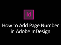 How to Add Page Numbers in Adobe InDesign