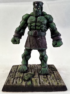 Show Off: Stone Golem (inspired by Marvel's Hulk)