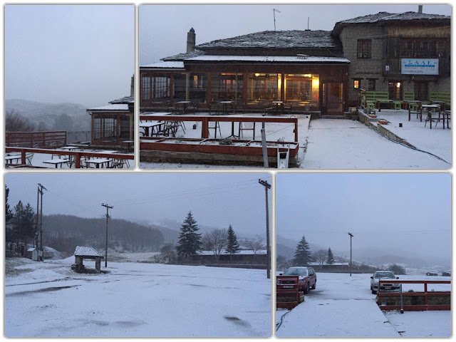 """Γιάννενα: ΜΕΤΣΟΒΟ-Το """"έστρωσε"""" και στο χιονοδρομικό κέντρο του Προφήτη Ηλία"""