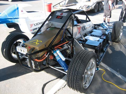 Ac Propulsion Electric Car Smashes Its Own Pikes Peak Ev Record