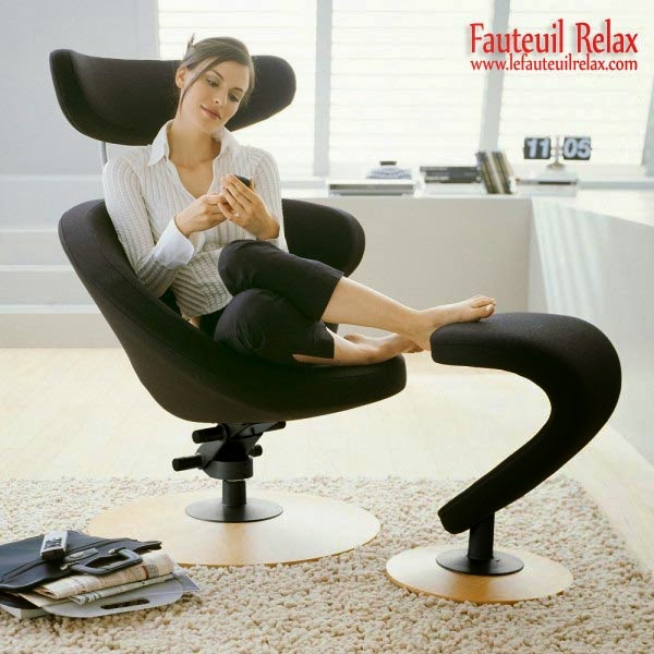 fauteuil relax peel avec repose pieds fauteuil relax. Black Bedroom Furniture Sets. Home Design Ideas