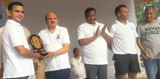 The way to reach Yudh Yudhwar Samadhi; MP Ramesh Kaushik