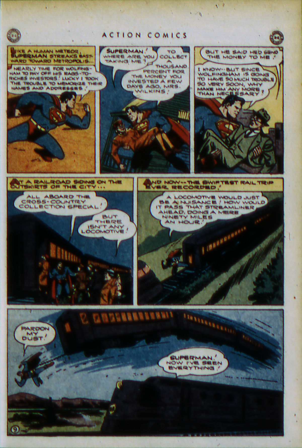 Read online Action Comics (1938) comic -  Issue #79 - 12