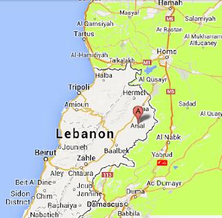 Arsal area LEBANON